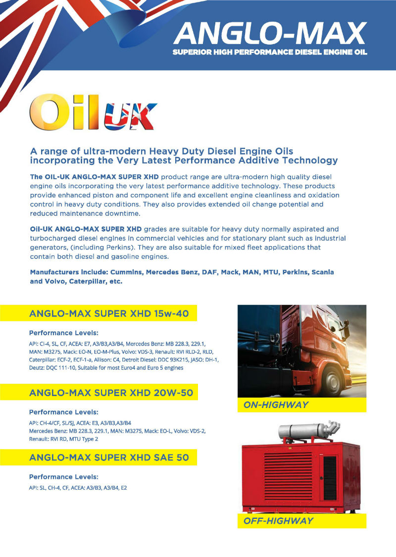 British, European Exporters and Suppliers of Oils- Oil UK